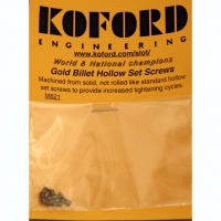 "KOFORD Ø4/40"" SCREW IN RIMS & GEARS, PERFORATED, 12 pcs. - #621"