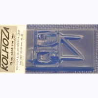 "KOLHOZA 1/32 Car interrior clear, thickness .005"" (0.125 mm) - #0122"