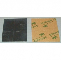 "LUCKY BOB Lead sheet thickness .032"" (0,8 mm), 38x53 mm with a adhesive tape - #LB1032"