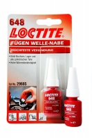 LOCTITE SHAFT-BUSHING RETAINER LOCTITE 648 for fixing ballbearings into the chassis holes, 5 ml