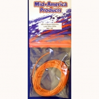 MID AMERICA LEAD WIRE 22Ga (section 0,33 mm²), orange, 3 m (10 ft) - #MID140
