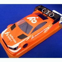 "OLEG Custom Painted Body Production 1/24 Audi RS5 DTM HOFFMAN GROUP, Lexan .007"" (0.175 mm) - #0121C"