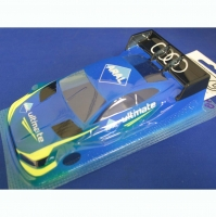 "OLEG Custom Painted Body Production 1/24 Audi RS5 DTM ARAL, Lexan .007"" (0.175 mm) - #0121D"