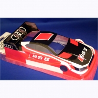 "OLEG Custom Painted Body Production 1/24 Audi RS5 DTM, Lexan .007"" (0.175 mm) - #0121G"