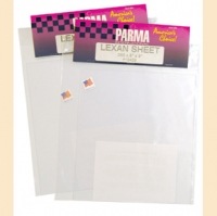 "PARMA LARGE POLYCARBONATE SHEET, thick. .030"" (0,76 mm), dim.: 292 x 330 mm, sheet - #10416"