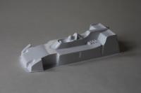 "NeAn Clear Formula 1/24 Parnelli-Offenhauser 1974 (Indycar) body, PVC, thin .015"" (0.4 mm) - #6549-P"