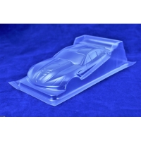 "RED FOX Clear body Production 1/24 Corvette DTM (ISRA 2021), lexan, thickness .007"" (0.175 mm), w/paint masks - #RFISRAVETTE7"