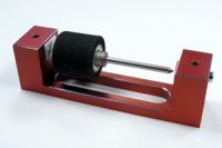 "MS-SLOTPARTS Static balancer tool for balancing the hubs and gears of slot cars. Includes 3/32 "" & 2 mm axles and storage box."
