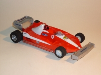 "NeAn FORMULA 1/24 FERRARI 312 BODY, Lexan, thin .01"" (0.25mm) - #6541-L"