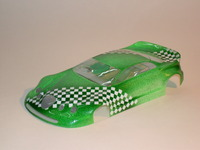 BOLID PRODUCTION 1/24 JAGUAR S-TYPE BODY, LEXAN, thickness 0.175 mm, w/paint masks - #6570-L