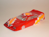 BOLID PRODUCTION 1/24 ALFA ROMEO BODY, LEXAN, thickness 0.175 mm - #6571-L
