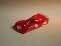 "NeAn Clear Production 1/32 Ferrari 330 P4 body, Lexan thickness .007"" (0.175 mm), w/paint masks - #6561-L"