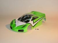 "NeAn Clear ""TEAPOT"" 1/24 SPANO GTA BODY, Lexan, thickness .01"" (0.25 mm), w/paint masks - #6519-L"