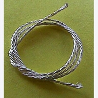 SLICK7 SILVER SHUNT WIRE, HANK, Silver weaving - #SL7219