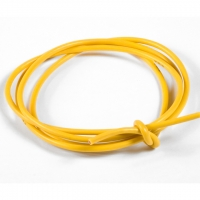 TQ LEAD WIRE 16Ga (section 1,31 mm²), yellow 1 m (3 ft) - #TQ1630