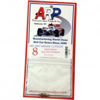 ARP PINION 72 PITCH, 8T, 0° angle, 2 mm bore - #ARP7208