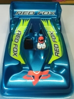 "REDFOX EUROSPORT 1/24 AUDI CONCEPT 2015 ISRA LEGAL BODY, LEXAN, thickness 0.125 mm (.005"") - #RFISRA24C"