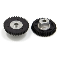 "JKP GEAR 72 PITCH 43T, 15° angle, 3/32"" axle,  w/screw - #JK724315-I"