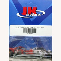 """JKP BODY MOUNTING CLIPS 4.5 """" (for 1/24 JK 4"""" """"Cheetah X25"""" chassis), pair - #JK9008"""