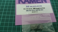 KAMEN C-CAN MAGNETS - MATCHED - #K501m