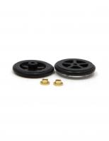 "JKP 5/8""D 1/16""A Front Wheel Plastic, O-ring, 5 Spoke (pr) - #T1250"