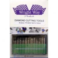 WRIGHTWAY DIAMOND CUTTING TOOLS, 15 pcs. - #WW26