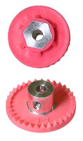 "PARMA Crown gear, 48 pitch 28 teeth, 1/8"" axle, Ø17.7 mm,  with screw - PAR#70147"