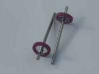 """Шестерня CAHOZA 64 pitch 36 зубов прямая, под ось 3/32"""", Ø15.00 мм клееная на ось 3/32"""" CAHOZA, ступица проточена до диаметра 3.7 мм - #6-AG"""