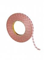 Скотч  двухсторонний толщиной 0.2 мм, шириной 12 мм, рулон 50 м - 9088
