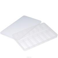 Органайзер для деталей размером 145×232×23 мм, прозрачный пластик