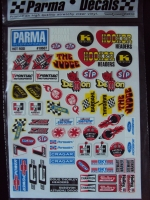 НАКЛЕЙКИ PARMA HOT ROD DECAL SHEET - #10607