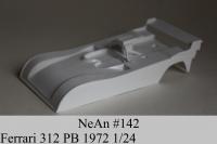 NeAn Кузов Retro 1/24 Ferrari 312 PB 1972, Lexan толщиной 0.254 мм - #142-L