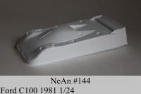 NeAn Кузов Retro 1/24 Ford C100 1981, Lexan толщиной 0.254 мм - #144-L
