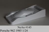 NeAn Кузов Retro 1/24 Porsche 962 1985, Lexan толщиной 0.254 мм - #145-L