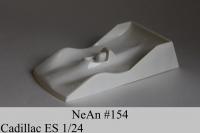 NeAn Кузов Eurosport 1/24 Cadillac, Lexan толщиной 0.125 мм - #154-LT