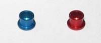 Анодированные стаканы для 5-и витк. пружин на задние крышки моторов Eurosprt, пара - #157