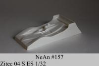 NeAn Кузов Eurosport 1/32 Zitec 04 S, Lexan толщиной 0.175 мм - #157-L