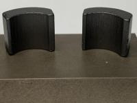 """B52 Магниты группы X-12, type 1, толщина .167"""" (4,24 мм), длина .458"""" (11,63 мм), (одна сторона прямая, другая скошенная), пара"""