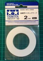 TAMIYA Малярный скотч шириной 2 мм - #TAM87177