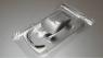 "ATTAN Кузов Tesla Model S P100DL Electric GT Production 1/24 ISRA 2020, Lexan толщиной 0.175 мм (.007""), с масками - #ATT2001"