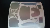 Комплект малярных масок для кузова McLaren P1 - #CH21
