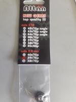 ATTAN Шестерня 72 pitch (0.35 модуль) 39 зубов прямая, под ось 2 мм, Ø14.15 мм - #ATT72392