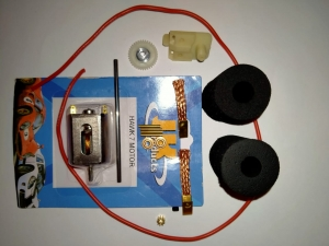 Набор №18 - комплект для сборки моделей первого года обучения - #055