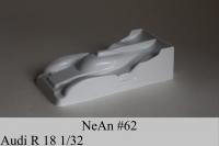 NeAn Кузов Production 1/32 Audi R18, Lexan толщиной 0.125 мм  - #62-LT