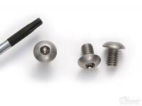 Винт крепления крышки мотора, 0-80, длина 2 мм, из титана, 1 шт.