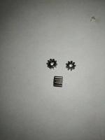 BSV Шестерня на электродвигатель 48 pitch (0,5 модуль), 9 зубов, на вал 2 мм,  стальная - #BSV489