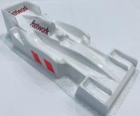 KOLHOZA Кузов Formula 1/32 Kolhoza Mercedes W07 Hybrid (#0114LT) окрашенный в фирменную раскраску команды F1 Footwork FA13  1992 г., 1 шт.