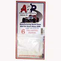 Шестерня на электродвигатель ARP 48 pitch 6 зубов, на вал 2 мм,  стальная - #4806S