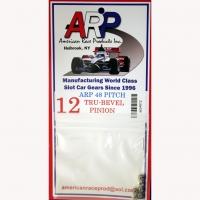 Шестерня на электродвигатель ARP 48 pitch 12 зубов, на вал 2 мм, стальная - #4812