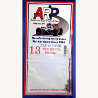 Шестерня на электродвигатель ARP 48 pitch 13 зубов, на вал 2 мм, стальная - #4813